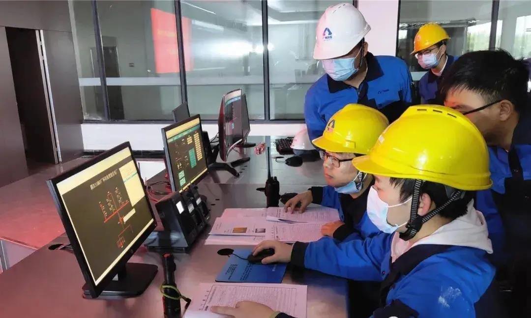 雷州市生活垃圾焚烧发电厂项目两炉一机功能测试顺利完成