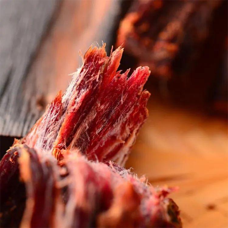 海拔3800米以上牦牛做出的牛肉干,大口嚼肉超香超满足