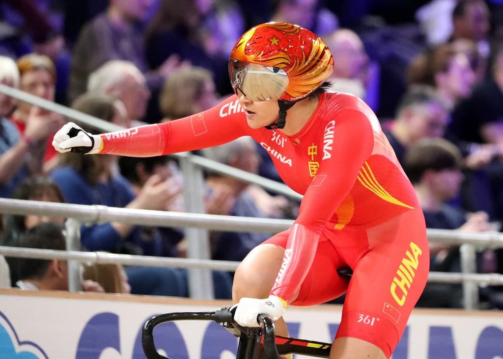 奥运冠军钟天使是中国队的组队核心