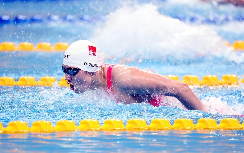 本届中国游泳队星光暗淡