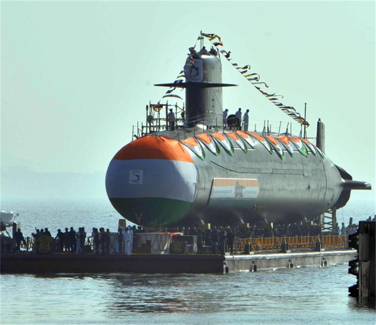 印度斥资67亿美元自造6艘潜艇 国产AIP系统不过关未被采用插图(1)