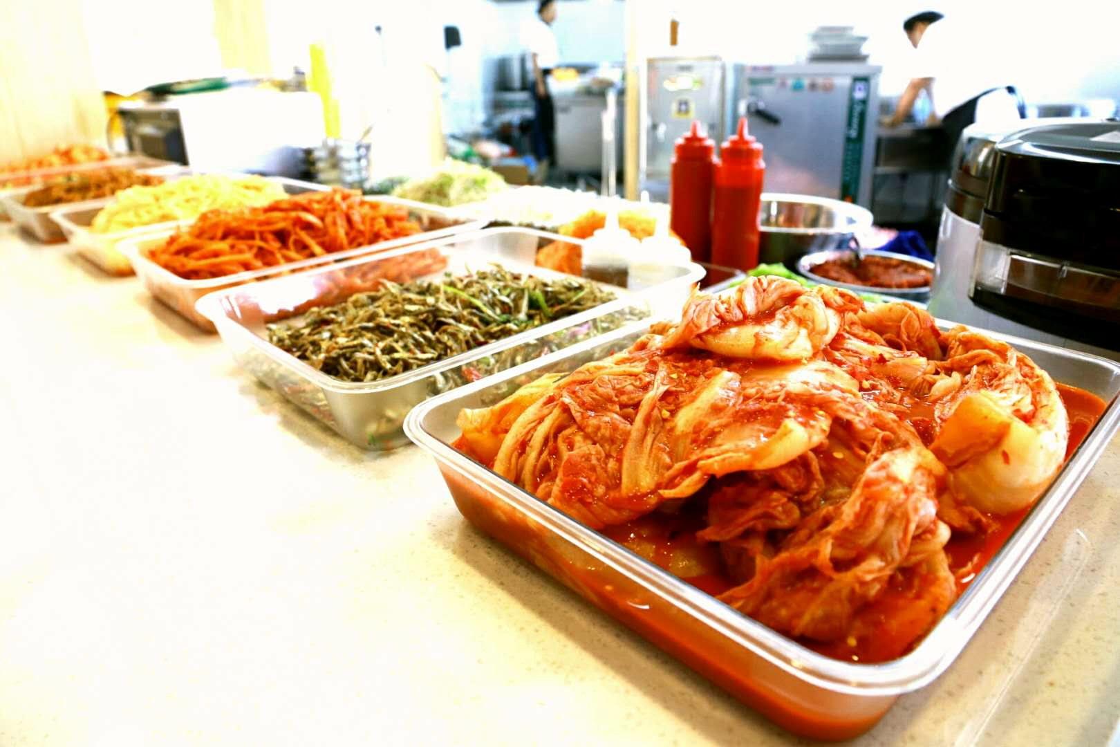 朝鲜族美食拌菜