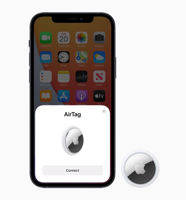 苹果推出全新颜色的AirTag皮革扣环和钥匙扣 靛海蓝、花菱草、松林绿