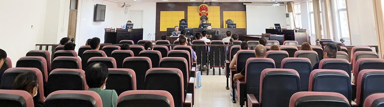 宁陵县法院邀请公职人员旁听危险驾驶案件