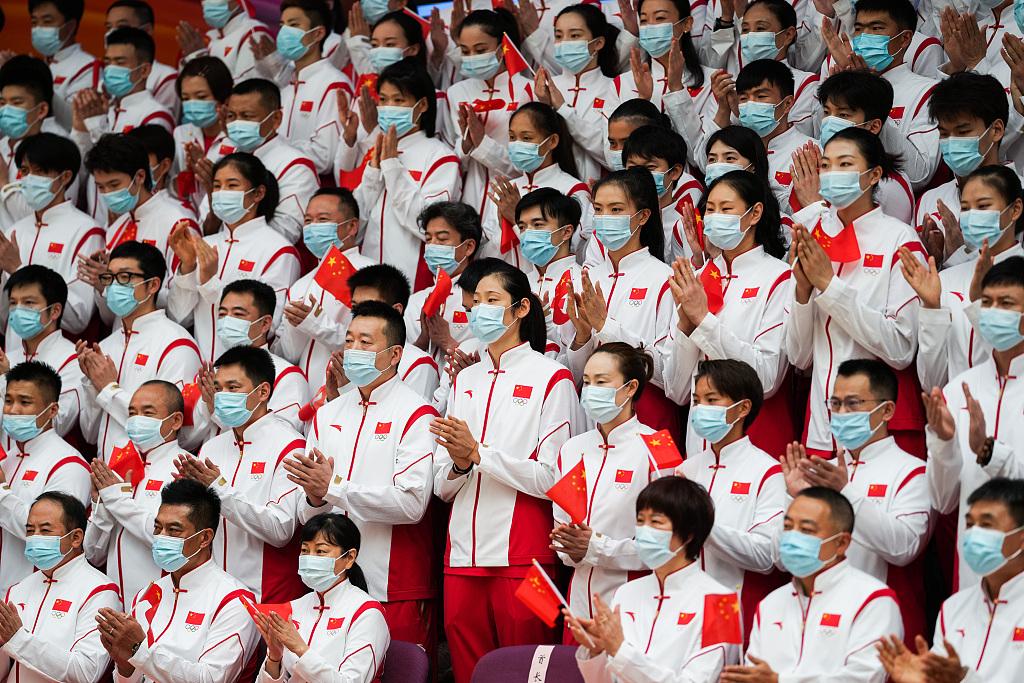 中国体育代表团工作会议举行