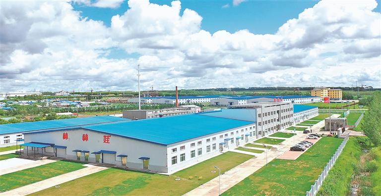 县工业园区。