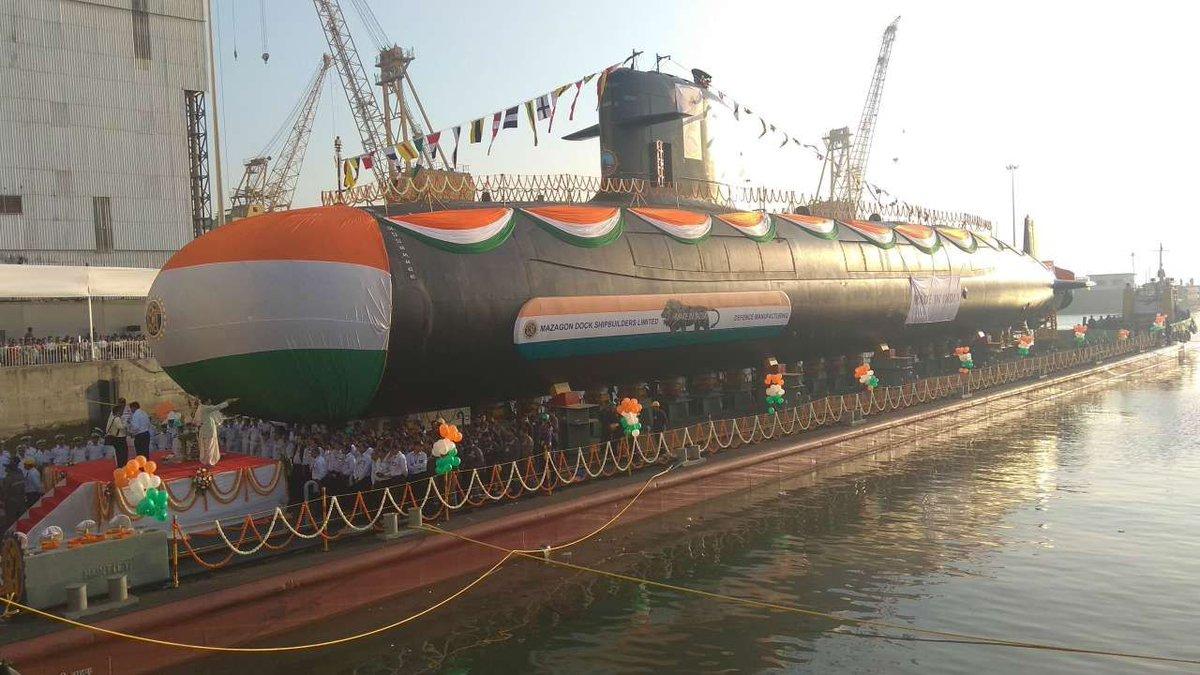 印度斥资67亿美元自造6艘潜艇 国产AIP系统不过关未被采用插图
