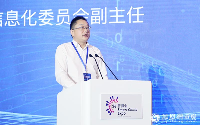 重庆市经济和信息化委员会党组成员、副主任杨正华致辞