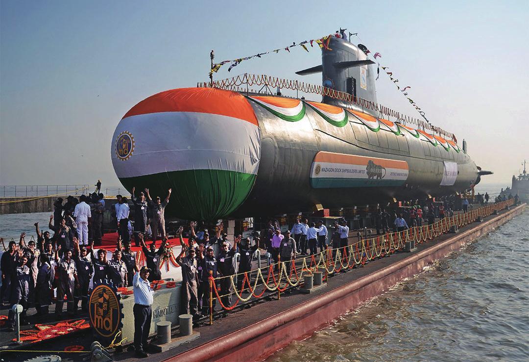 印度斥资67亿美元自造6艘潜艇 国产AIP系统不过关未被采用插图(9)