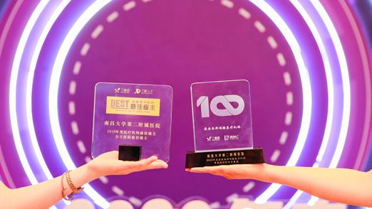南昌大学第二附属医院荣获两项国家级大奖