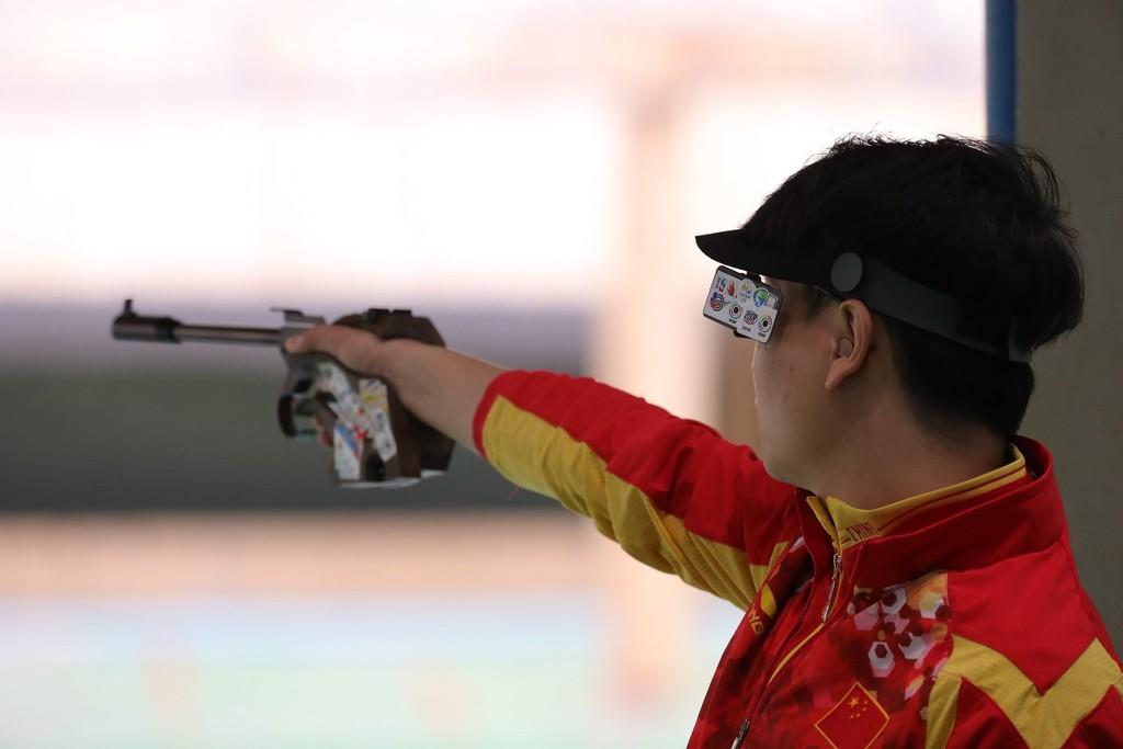 庞伟第四次征战奥运