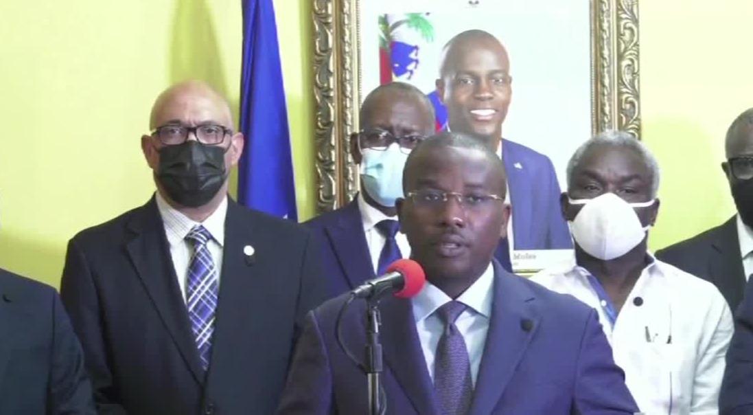 海地宣布将为遇刺总统举行国葬