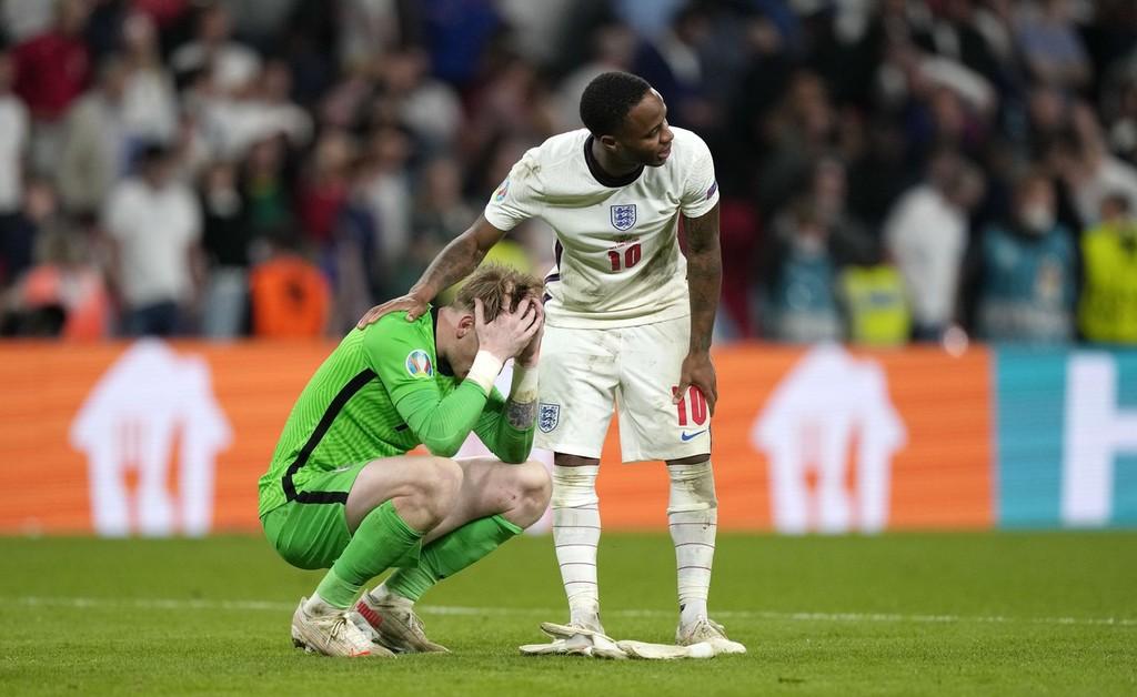 英格兰球员怅然若失