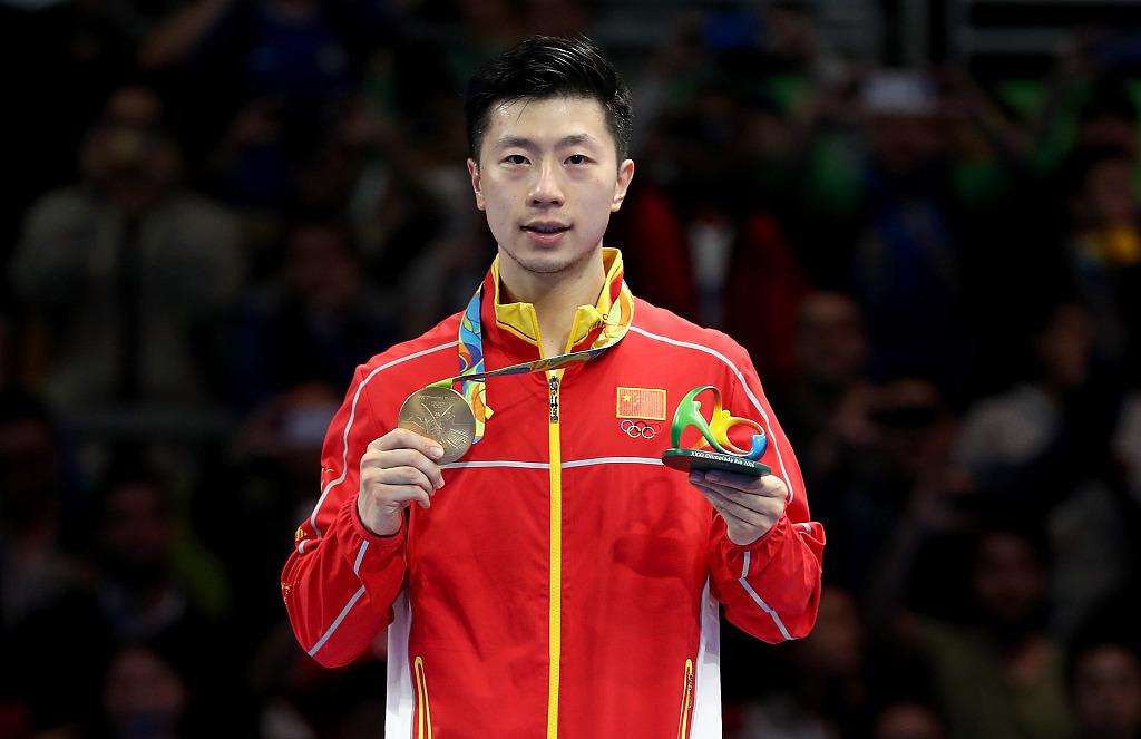 马龙领先中国乒乓球队