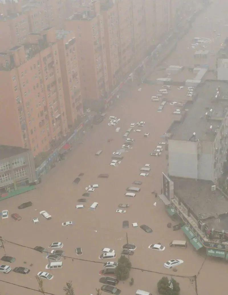 千年一遇的郑州特大暴雨,原因是什么?
