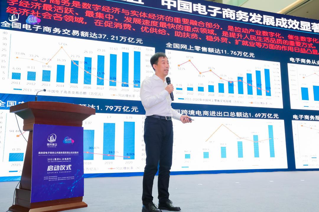全国电子商务发展成效介绍。