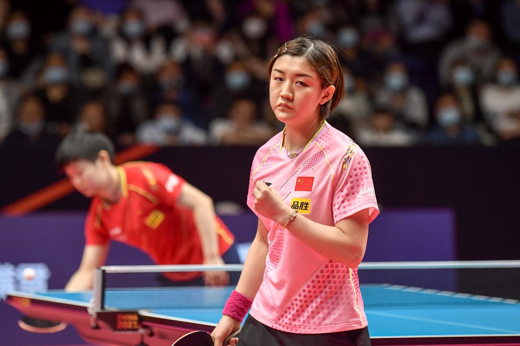 陈梦是目前的中国女乒一姐。