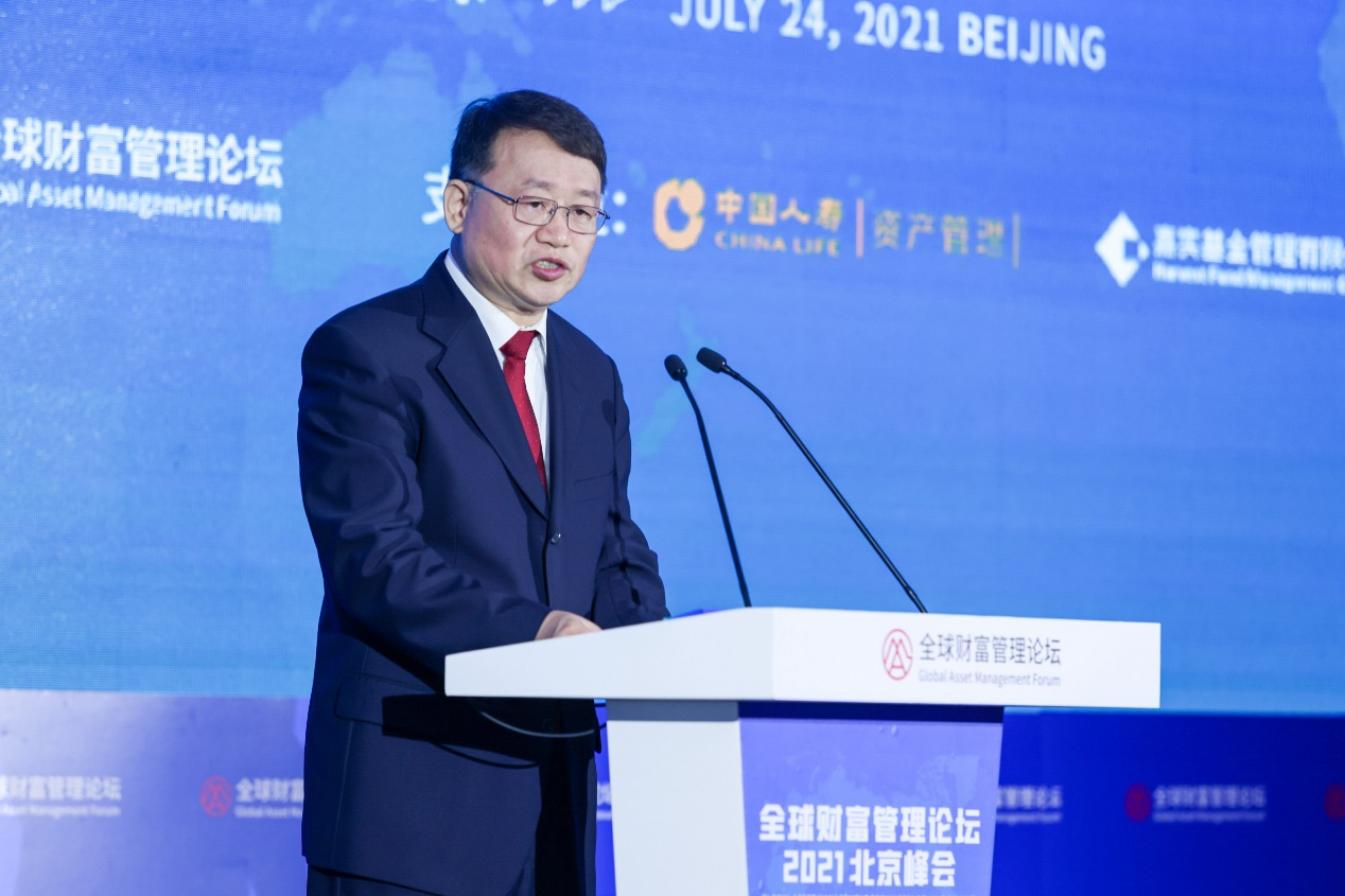 图注:中国银保监会副主席梁涛