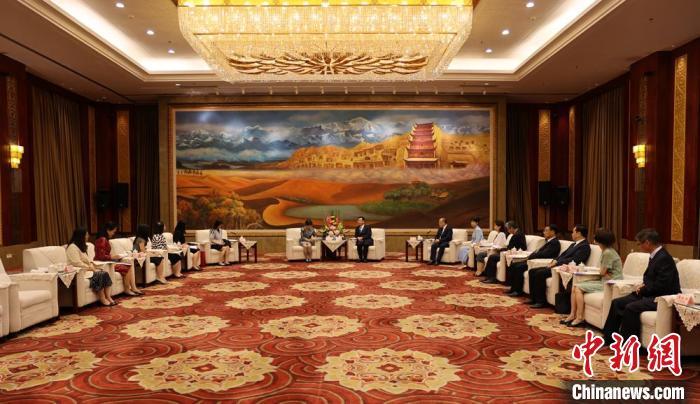 泰国驻华官员考察甘肃:搭桥梁拓文旅、中医药合作领域