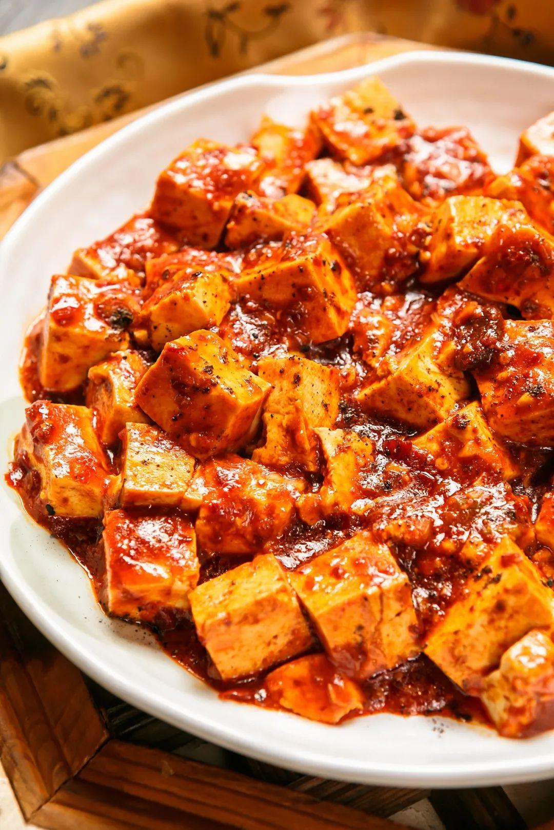 ▲ 麻婆豆腐向来是川菜麻味的头牌。图/视觉中国