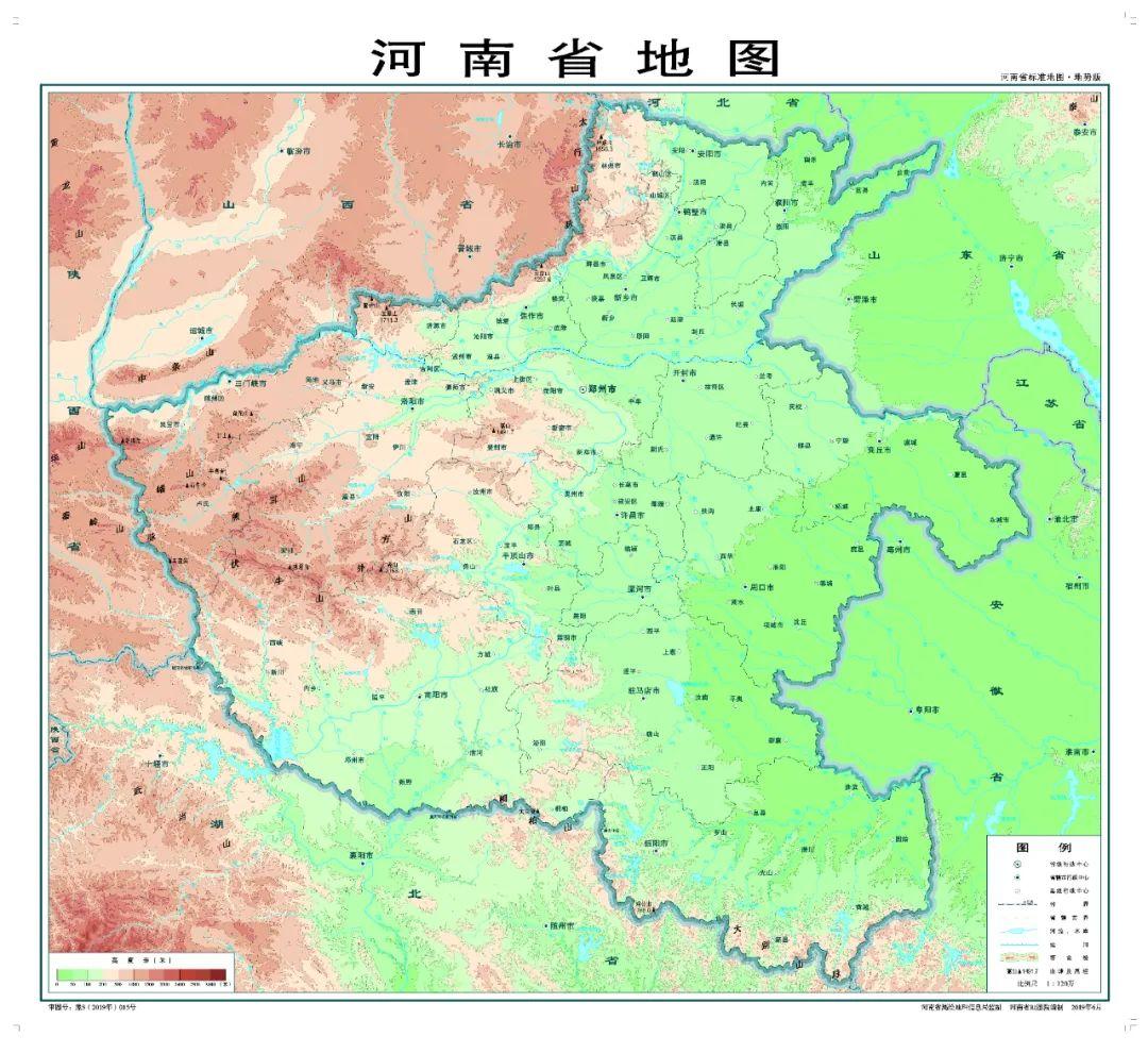 图自河南省地理信息公共服务平台