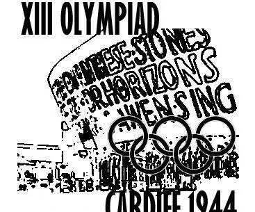 上图_ 1944年奥运会海报