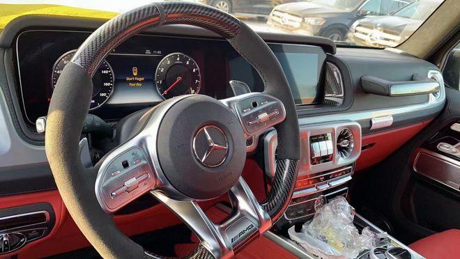 21款奔驰G63AMG报价国六新款图片配置