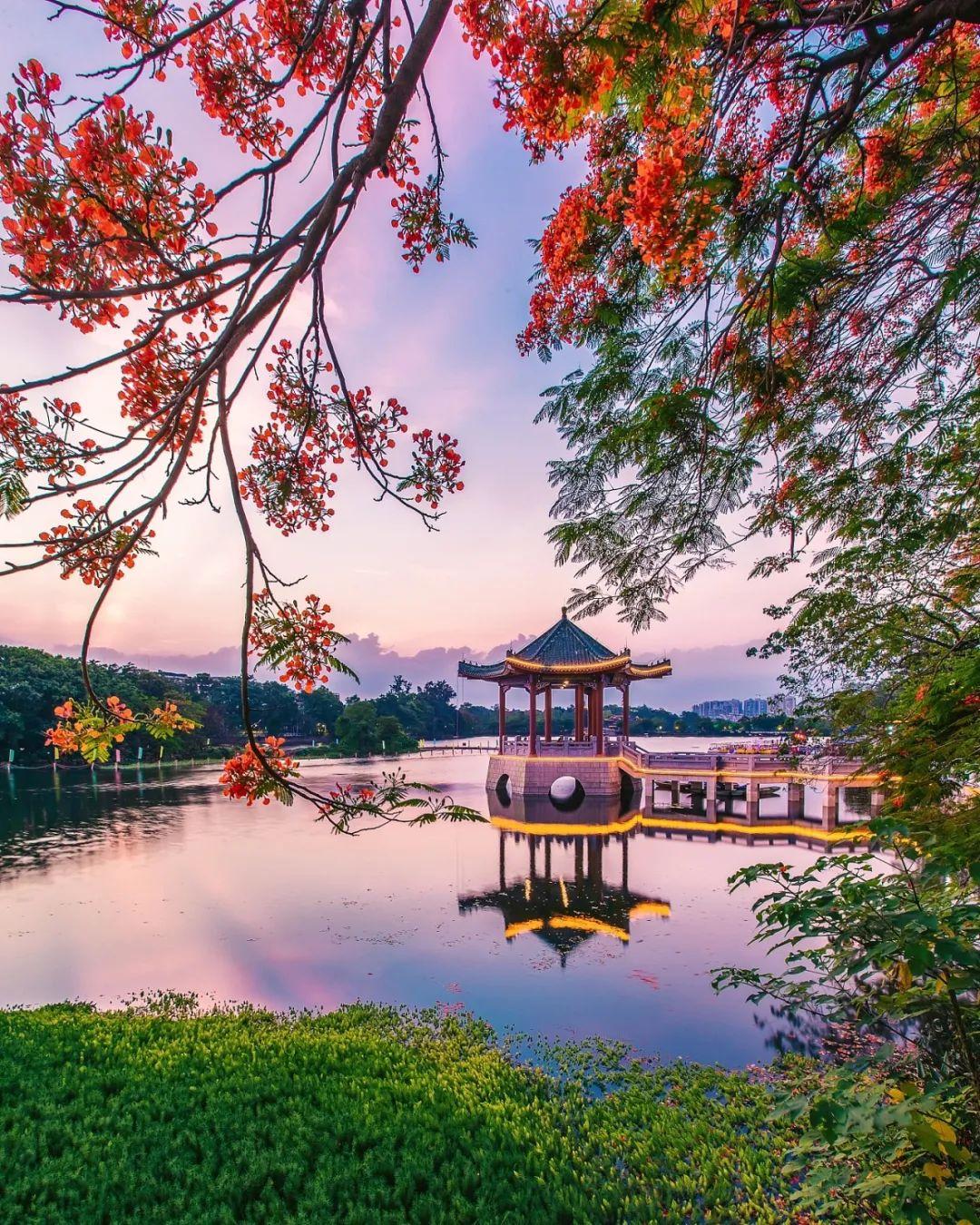 △惠州西湖的灵秀之气/视觉中国
