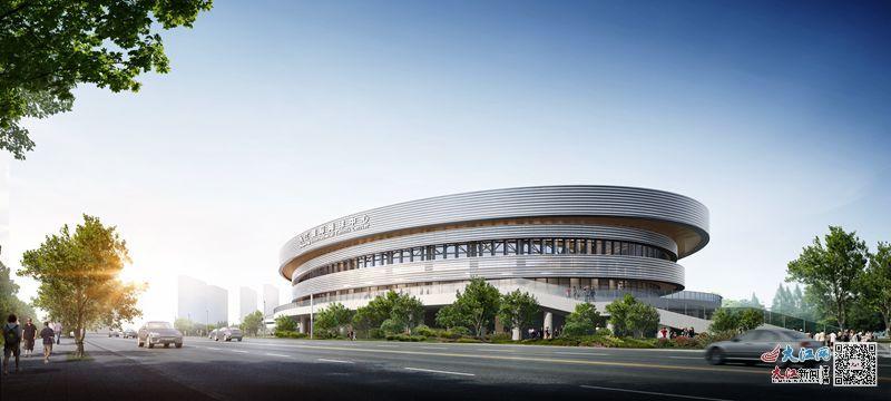 九江国际网球中心效果图