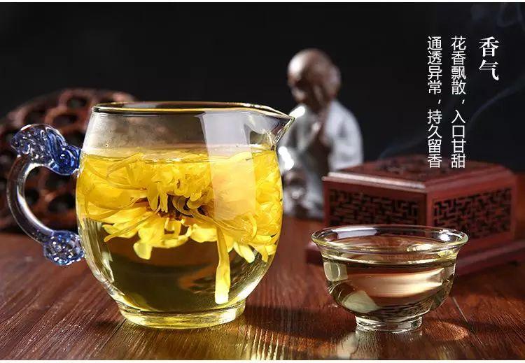 """一朵一杯,清热降火,徽州""""金丝皇菊""""原来这么管用又好喝"""