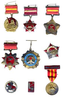 ▲马松生所荣获勋章