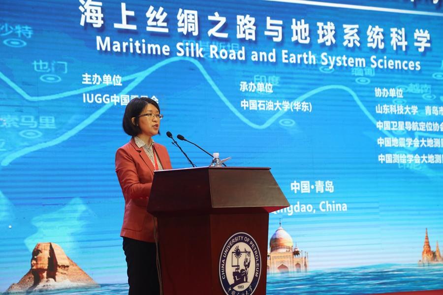 中国科学技术协会国际联络部尹霖处长致辞