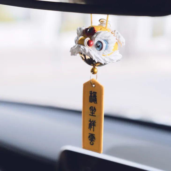 """中式美感的醒狮香薰,放于车中,有""""潮""""有""""味""""有格调"""