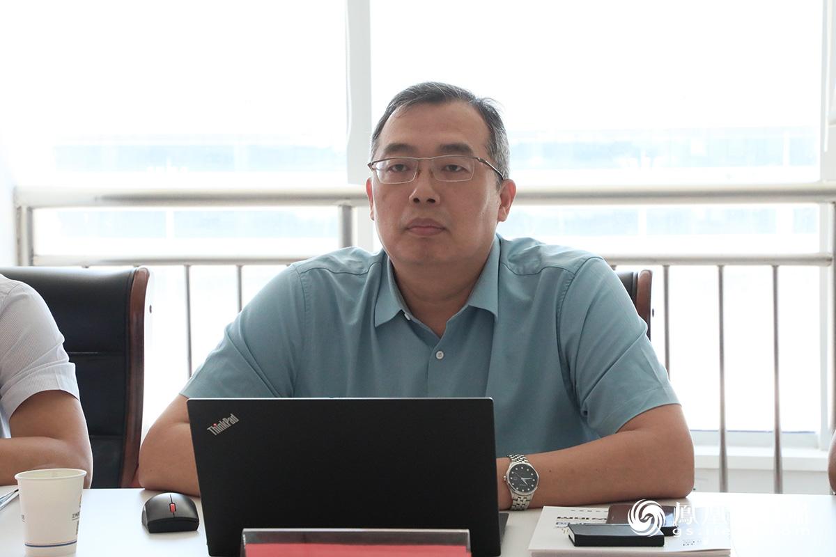 刘文冰介绍中化环境控股有限公司发展历程 胡艳 摄
