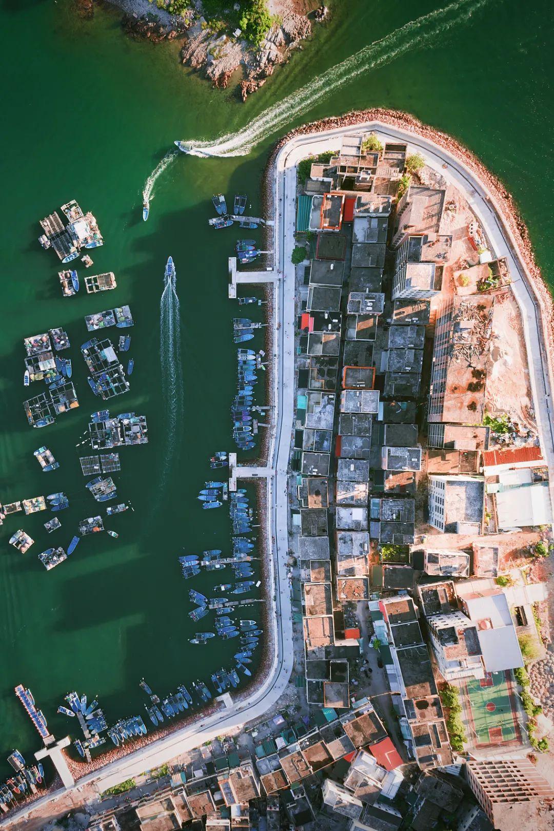 △惠州的生态资源丰富,大亚湾新产业群正在开发/视觉中国