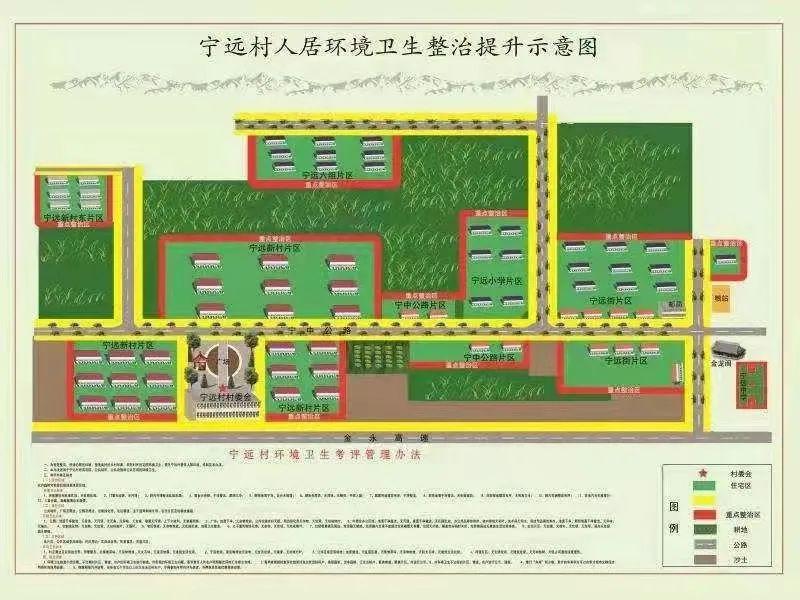 """△宁远村""""红、黄、绿""""划级管理机制"""