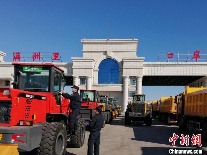 价值5亿元今年上半年中国最大陆路口岸汽车出口倍增