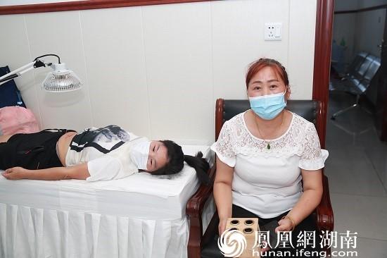患者接受中医治疗