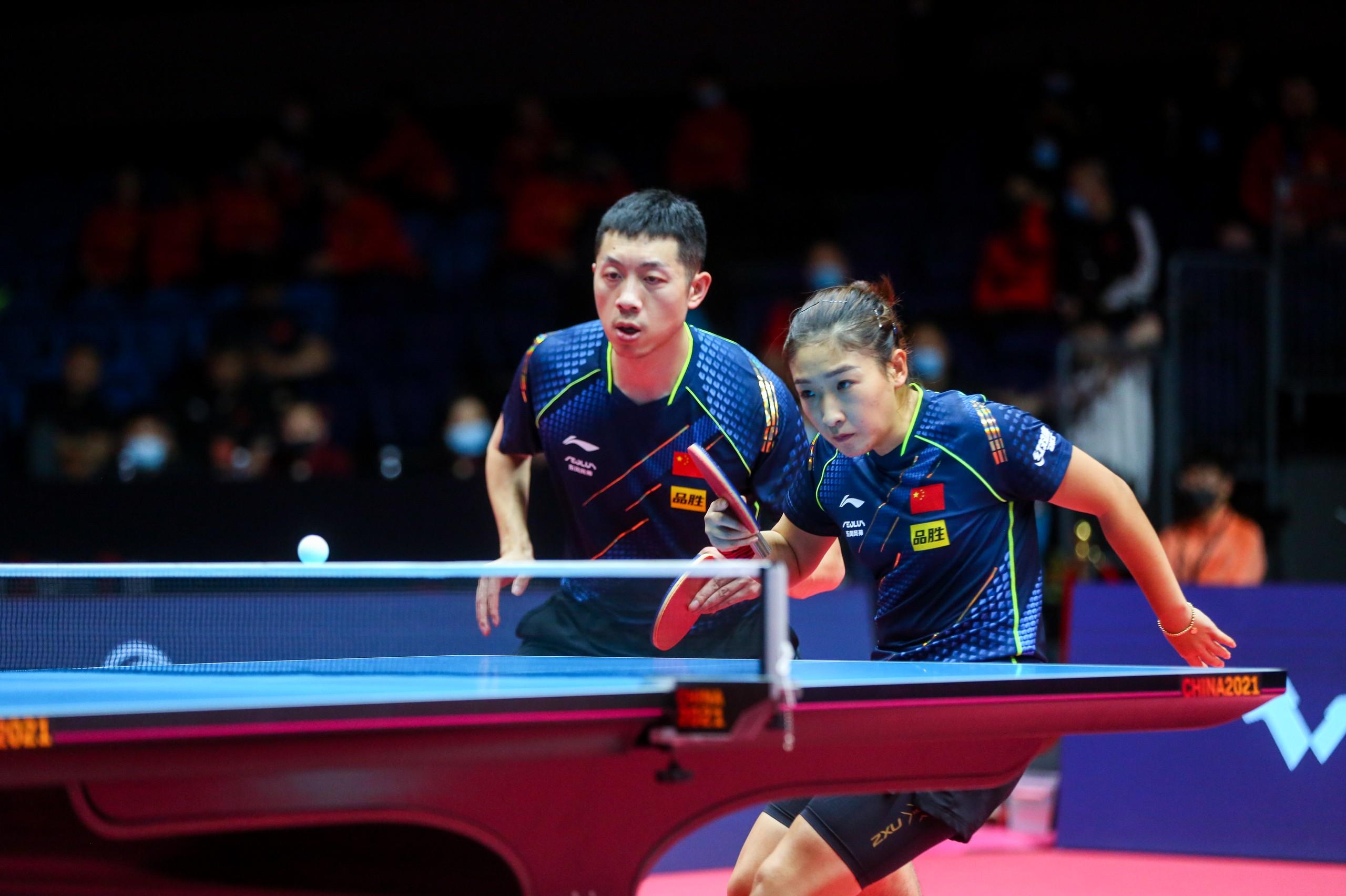 许昕和刘诗雯肩负重担。