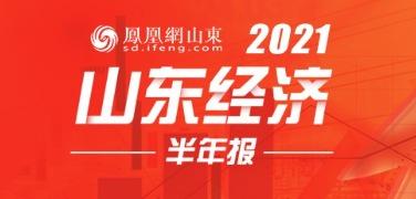 图说:2021年山东经济半年报