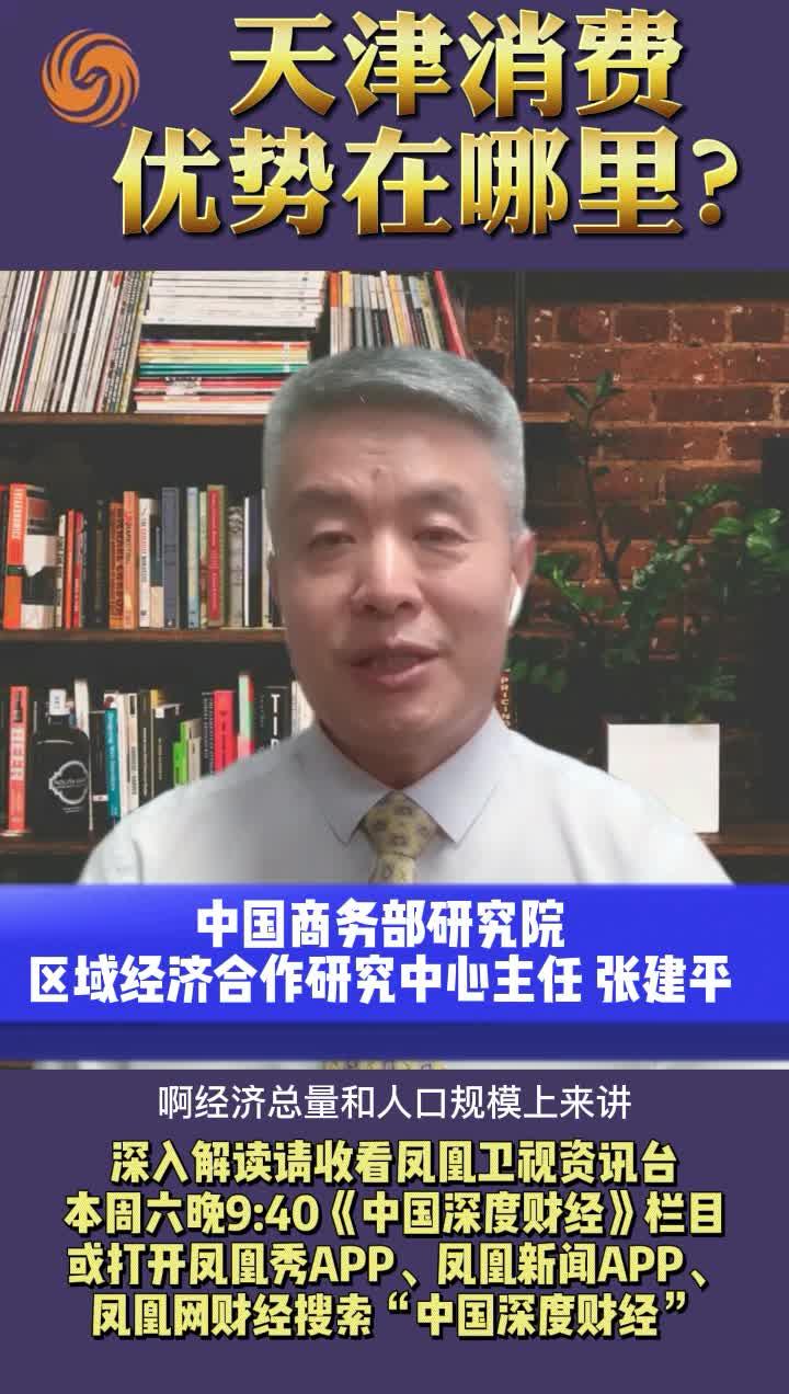 中国商务部研究院专家:天津消费优势在哪里?