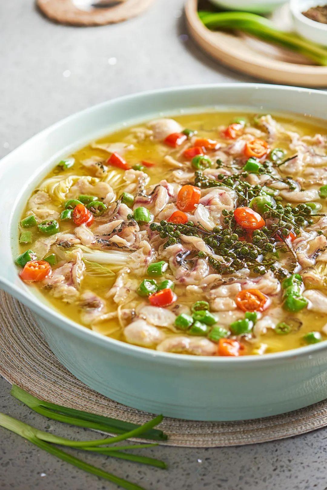 ▲ 藤椒和鱼搭配总是最搭的。图/视觉中国
