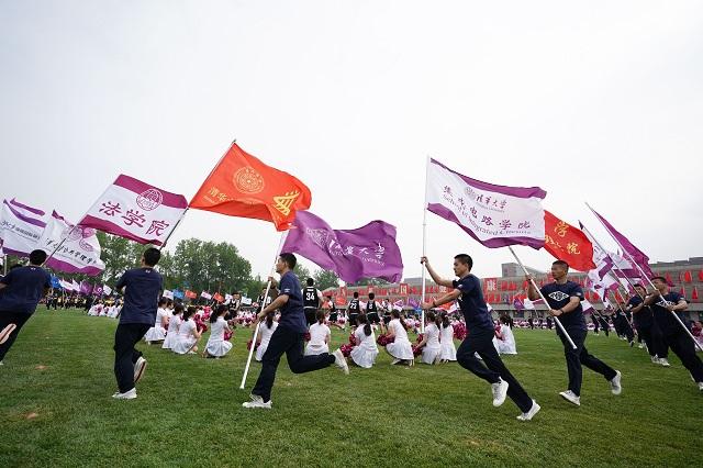 4月25日,清华大学迎来建校110周年纪念日。新华社图。