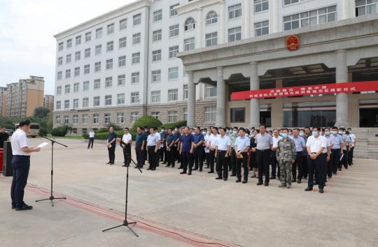 河南柘城:爱心捐赠助力郑州等地灾区建设