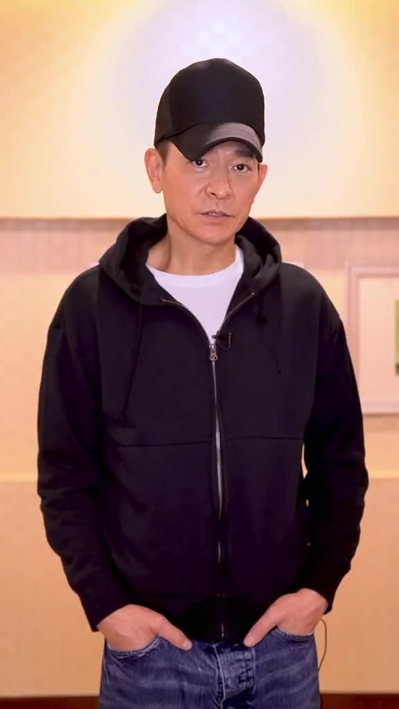 刘德华为河南祈福 宣布新歌活动暂缓推出