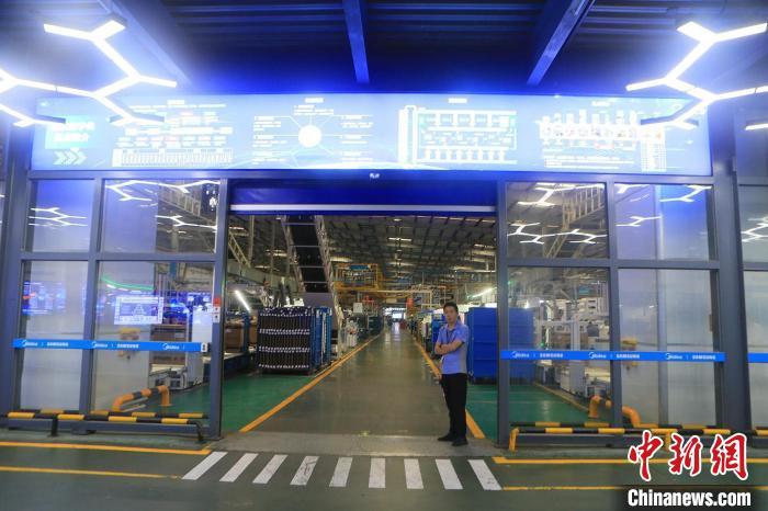 广东首个5G全连接智能制造示范工厂亮相