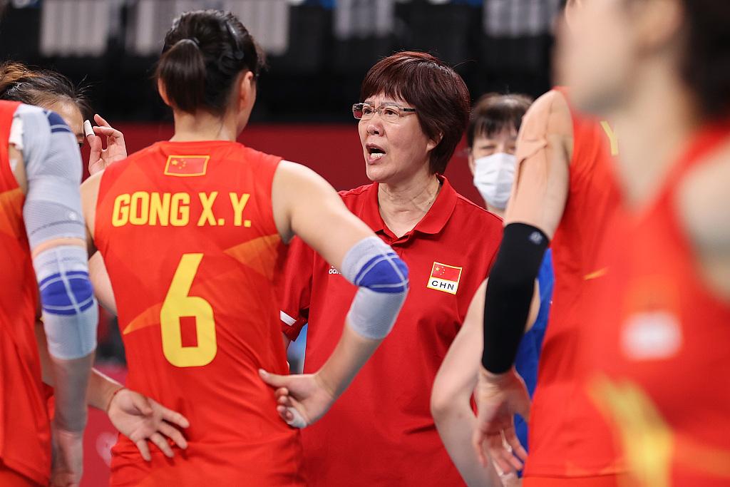 """人民網:中國女排不是只有""""冠軍""""這一個代名詞"""