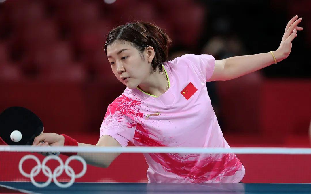 世界第一陈梦摘下奥运女单金牌。图/新华社