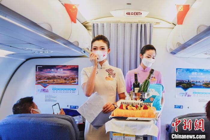 南航深圳—兰州—喀什航线开通 南方航空供图