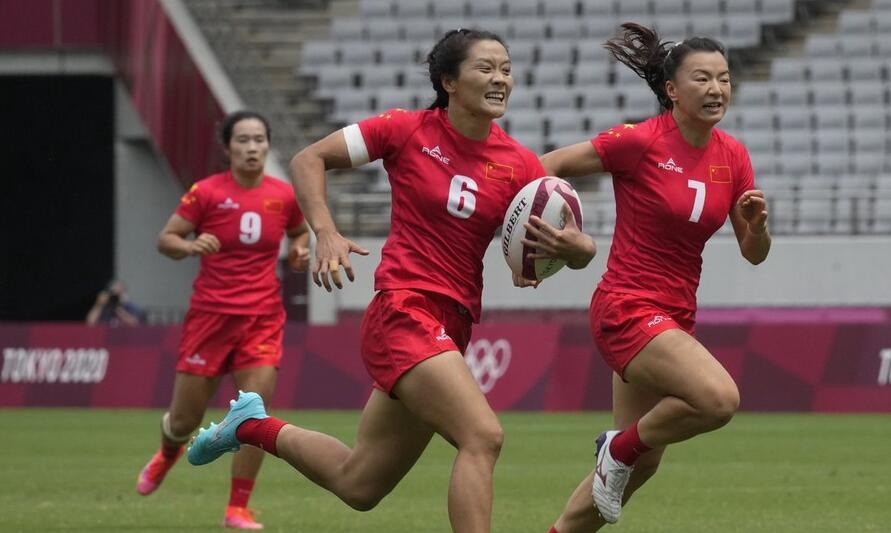 创历史!中国女子橄榄球队29-0痛击日本 获奥运首胜